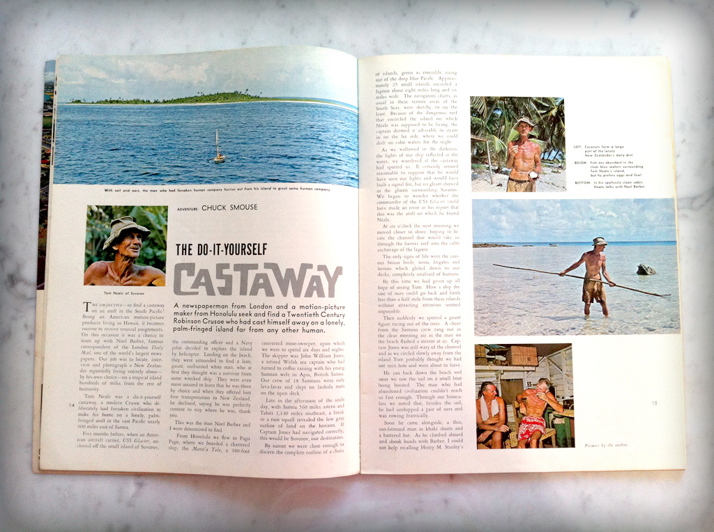 Castaway article