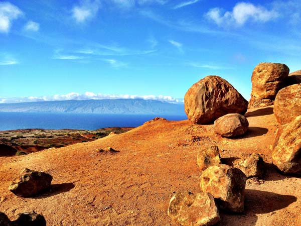 Garden of the Gods, Lanai Island, Hawaii