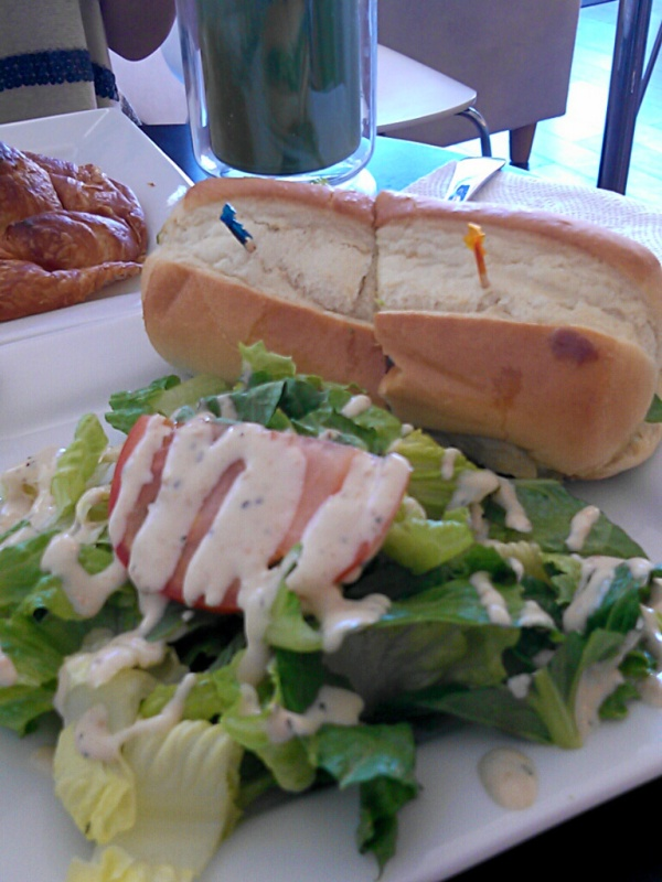 Chicken-Pesto-Sandwich-with-Caesar-Salad