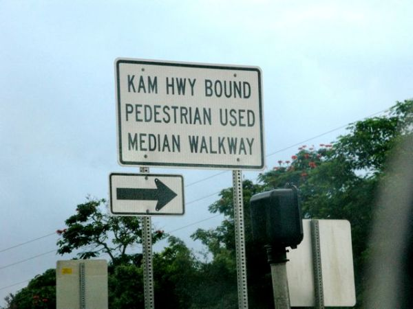 Pali and Kam Hwy